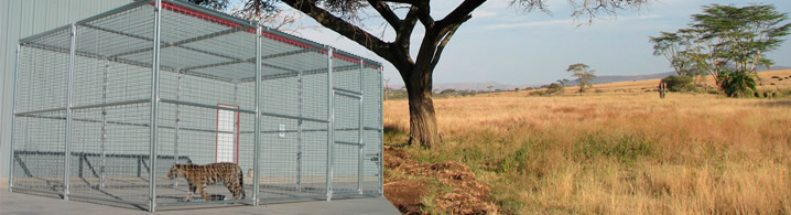 Exotic Animal Cages, Enclosures, Panels, Gates, and Hardware